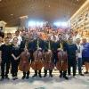 Mit Gästen und dem Team (u.a. Wei Yang, Fan Zhang & Yimeng Xi) beim Fototermin nach dem Konzert (Foto: Archiv)
