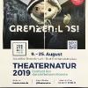 Festivalplakat THEATERNATUR 2019 (Benneckenstein, Harz)