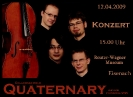 Konzertplakat Eisenach (als Celloensemble Quaternary) (2009)