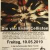 Konzertplakat Hannover 2019 (Hannover-Wettbergen)