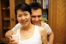 Yasuko Sugimoto-Shestiperov & Alexey Shestiperov nach dem Festkonzert der