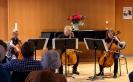 Elisa Siebert, Elias Millitzer & Amalie Stanek beim Großen Abschlusskonzert der