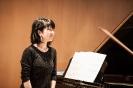 Yasuko Sugimoto-Shestiperov beim Abschluss-Triptychon der