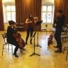 Mit Markus während der Cello- und Kammermusikkurse innerhalb der