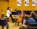 Mit Violetta Köhn (Kl) beim Kursabschlusskonzert am 31.10.2016 innerhalb der