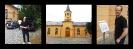 Mathias' Ankunft & die Schinkel-Simultan-Kirche in Althaldensleben 2014 (Fotos: Archiv)