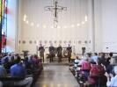 Die Vier EvangCellisten in der Christkönigskirche in Fürth 2014 (Foto: Gemeinde Christkönig Fürth, Archiv)