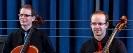 Hanno & Mathias nach dem Release-Konzert von