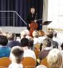 Markus im Release-Konzert von