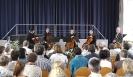 Die Vier EvangCellisten mit Udo Hartlmaier im Release-Konzert von