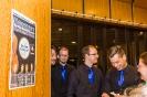 Die Vier EvangCellisten in Hannover nach ihrem Release-Konzert der CD