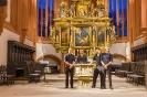 Nach dem Konzert in der Stadtkirche Bayreuth am 09.08.2015. (Foto: Archiv)