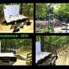 Waldbühne (oben rechts) und Wald I Studio Benneckenstein THEATERNATUR 2019 (Fotos: Archiv)