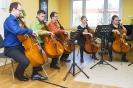Beim Meisterkurs in der Kreismusikschule